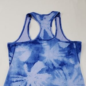 Athleta Tops - 🌈Athleta Blue/White Tie Dye Athletic Tank
